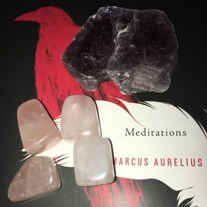 Other - Lepidolite & Rose Quartz Crystal Bundle